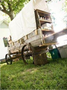 coffee cart/smores for bonfire