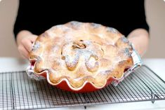 """Pastel de manzana o """"American Apple pie"""" con Thermomix Pie Recipes, Sweet Recipes, Dessert Recipes, Newyork Cheesecake, American Apple Pie, Thermomix Desserts, Cakes And More, The Best, Food To Make"""