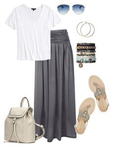 """""""Comfy Summer"""" by kimberlyn303 on Polyvore featuring HotSquash, Topshop, Antik Batik, Christian Dior, maxiskirt and summeroutfit"""