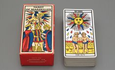 TAROT OF MARSEILLE This is the first deck I received from a co-worker over ten years ago.