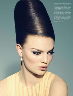 60s Hair | 60s-Inspired Hair Editorials - The Merci, Bardot Editorial for Elle ...
