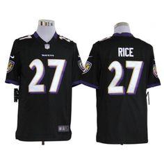 Nike Ravens Ray Rice Black Alternate Mens NFL Game Jersey And Aqib Talib 21  jersey dbd9f118d