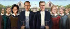 Polygamists See Themselves In Romney, Obama Family Trees