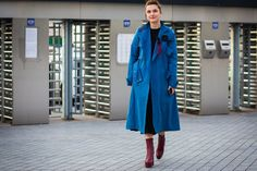 The Top Street Style Pics From Kiev Fashion Week