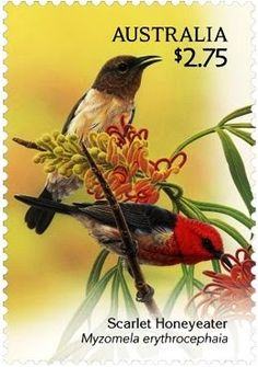 My Favourite Stamps: Sweet Song Birds from Australia