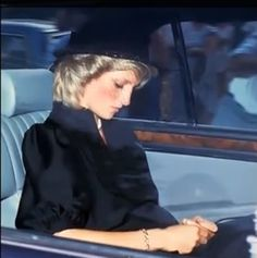 Princess Diana at Grace Kelly's funeral