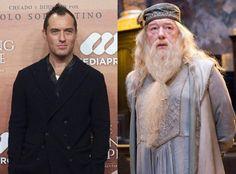 Jude Law será Albus Dumbledore en la segunda entrega de Fantastic Beasts