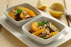 Ricetta #Insalata di #arance e #carciofi | Olio Extravergine Delicato Cirio