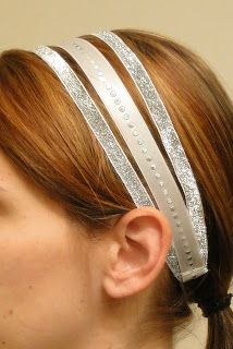 DIY:: Ribbon Fashion Headband Tutorial