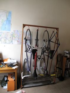 Bike Storage Rack idea