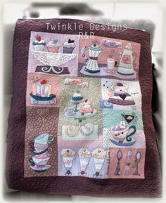 Sweet Mystery Quilt - Twinkle Designs R&R - Pattern available