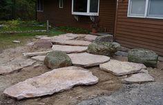 Sandstone Steps | Sandstone Slab Steps