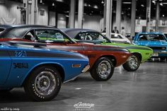 muscle cars-design