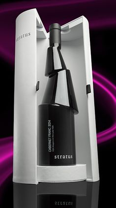 Stratus Vineyards Wine Bottle designed by Karim Rashid