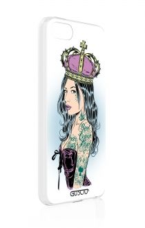 Apple iPhone 5/5S/SE  - 60117 - Queen PIn up