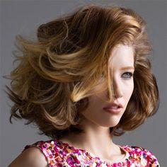 coiffure jean louis david 2011 Balayage Bob, Bob Haircuts For Women, Long Bob Haircuts, Hairstyles Over 50, Cute Hairstyles, Jean Louis David, Long Hair Cuts, Girly Things, Girly Stuff