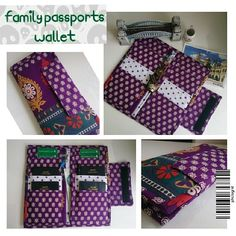 ~ Chez Vies ~: Everyone needs Family Passport Wallet