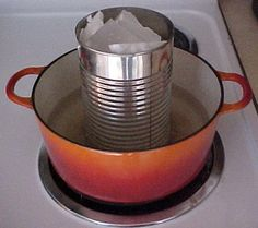 Learn the proper procedure for melting candle wax in a double boiler. Page 3.