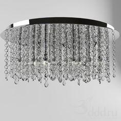 Ideal Lux Royal PL15 (53011) 3dsMax 2012 + fbx (Vray) : Ceiling light : 3dSky - 3d models