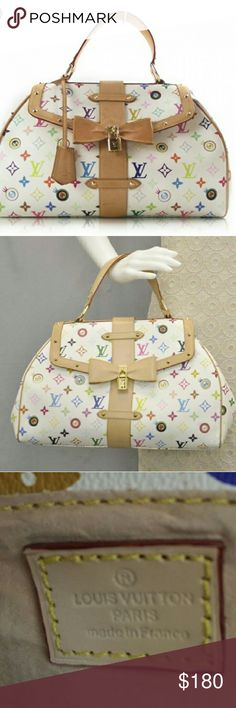 Louis Vuitton Eye See You Murakami Speedy With its vintage flair, beautiful studs, padlock and bow and exquisite hardware details, you won't want to miss out on this one RP is $2170. The Louis Vuitton Monogram Multicolor collection was first introduced in spring 2003. The Jappop artist, Takashi Murakami decided to revamp the traditional monogram and give it a splash of color. The exterior is clean and beautiful with a few light scuff marks on the sides and faint wear at the base. The…
