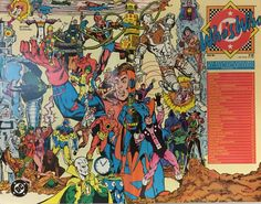 Who's Who #5 (July 1985), cover by George Perez and Dick Giordano