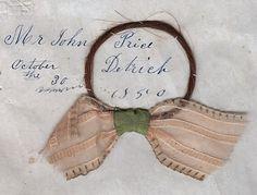Dull Tool Dim Bulb: Hair Memento Folk Art 1850 Woven Love Tokens A Lost Art