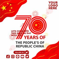 Customize this design with your video, photos and text. Easy to use online tools with thousands of stock photos, clipart and effects. Free downloads, great for printing and sharing online. Instagram Post. Tags: china, the peoples republic china, Event Flyers, Chinese New Year , Chinese New Year Chinese New Year Poster, New Years Poster, China National Day, Event Flyers, Share Online, Beautiful Posters, New Year Celebration, Free Downloads, Social Media Graphics