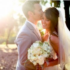 Pretty pastels & lots of lovely lace at this gorgeous California wedding ~ crafty brides will love the DIY lace hoop decor!
