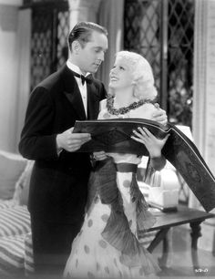 Franchot Tone  & Jean Harlow, The Girl From Missouri, 1934 (gowns by Adrian)