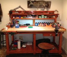 How organized is your reloading room guns and ammo for Apartment workbench plans