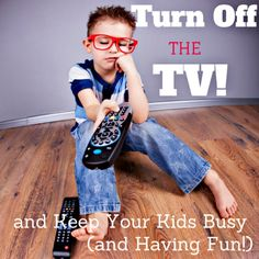 Turn Off the TV and Keep Kids Busy (and Having Fun!). Sharing four simple Screen-free ideas to keep kids entertained while fostering life long bonds.