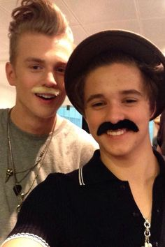 Tristan Evans and Bradley Simpson // The Vamps