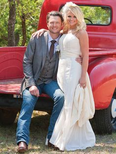 Miranda & Blake :) Their wedding is my inspiration!