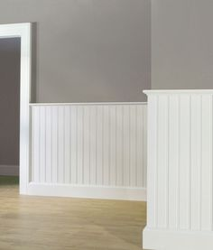 Creative And Inexpensive Cool Ideas: Wainscoting Bedroom Diy wainscoting kitchen ideas.Wainscoting Green Board And Batten wainscoting interior benjamin moore. Beadboard Wainscoting, Dining Room Wainscoting, Wainscoting Panels, Wainscoting Ideas, Wainscoting Nursery, Rustic Wainscoting, Basement Wainscoting, Paneling Ideas, Panelling