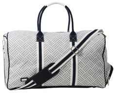 Check out what Nicole's Tennis Boutique has to offer for on and off the court! Ame & Lulu Ladies Signature Duffel Bags - Taj #NicolesTennisBoutique