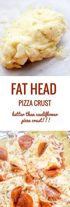 How to Make Fat Head Pizza Crust – Watch Video! Fat Head Pizza Crust – this is going to be your new favorite way to make low carb pizza crust! No more vegetables like cauliflower or broccoli! Guys, you are going to love this pizza crust. Ketogenic Recipes, Low Carb Recipes, Diet Recipes, Cooking Recipes, Healthy Recipes, Pizza Recipes, Lunch Recipes, Atkins Recipes, Breakfast