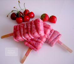 Ricette Barbare: Strawberry-Cherry Pops