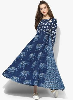 Indigo Outfits With A Desi Touch