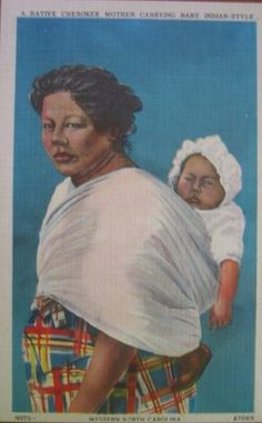 Cherokee - Mother And Baby