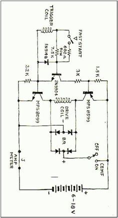Schematic of a Don Smith Generator generateur Will
