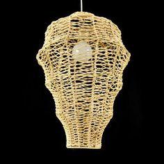 Rustic Rattan Pendant Lamp Creative Minimalist Hand Waven Rattan Hanging  Lamp For Restaurant Bar Bedroom