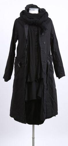 rundholz dip - Shirtkleid mit Shirt und Shirtjacke black - Winter 2016