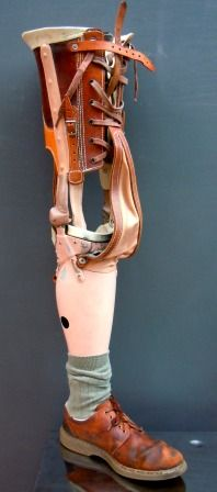 Skinner And Hyde: Great vintage prosthetic