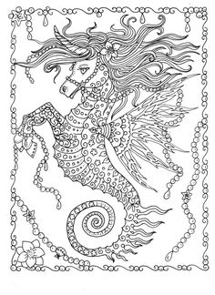 Printable Just Keep Swimming under the sea design coloring page