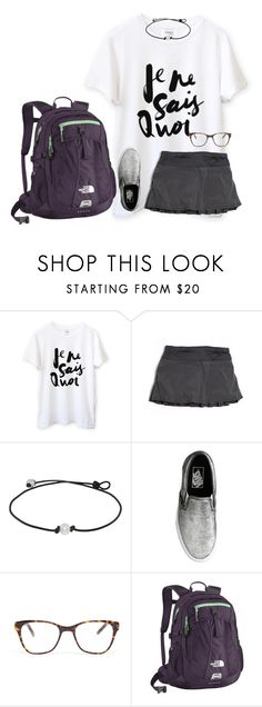 """ootd, love school"" by ava-lindsey ❤ liked on Polyvore featuring lululemon, J.Crew, Prism, The North Face, women's clothing, women, female, woman, misses and juniors"