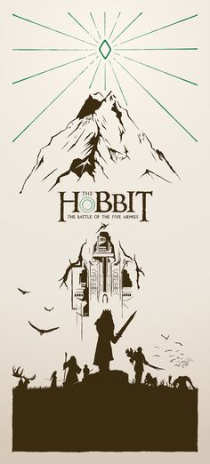 The Hobbit: Battle of the Five Armies Poster