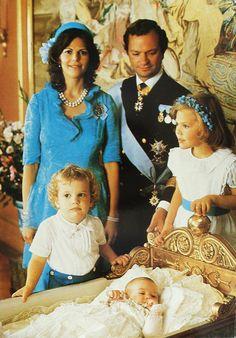 King Carl XVI Gustaf, Queen Silvia, Crown Princess Victoria, Prince Carl Philip and Princess Madeleine