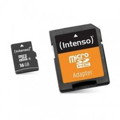 If you're passionate about IT and electronics, like being up to date on technology and don't miss even the slightest details, buy Micro SD Memory Card with Adaptor INTENSO 3413470 16 GB Class 10 at an unbeatable price. Retro Arcade, Camcorder, Secure Digital, Smartphone, Pulsar, Smart Tv, Tech Gadgets, Vinyl Records, Usb Flash Drive