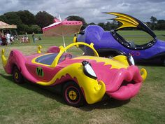 Compact Pussycat (Penelope Pitstop's car from Wacky Races) by jane_sanders, via Flickr