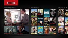 Netflix now on Windows 8 RT